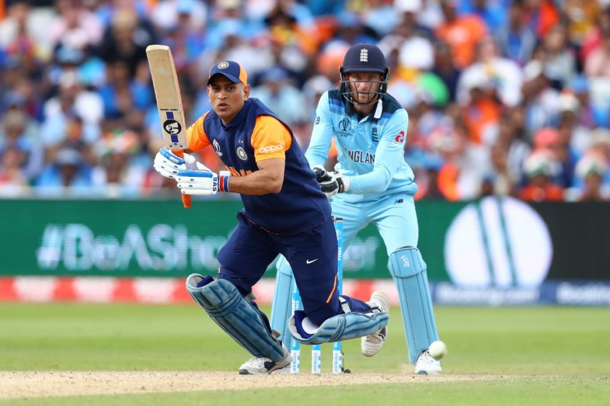 World Cup 2019: Dhoni-Jadhav's batting towards end leaves Twitterati perplexed