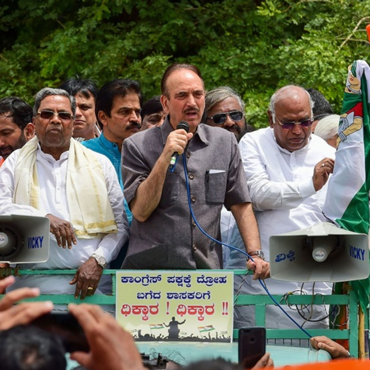 BJP and its leaders hardly care about Constitution: Ghulam Nabi Azad on Karnataka crisis