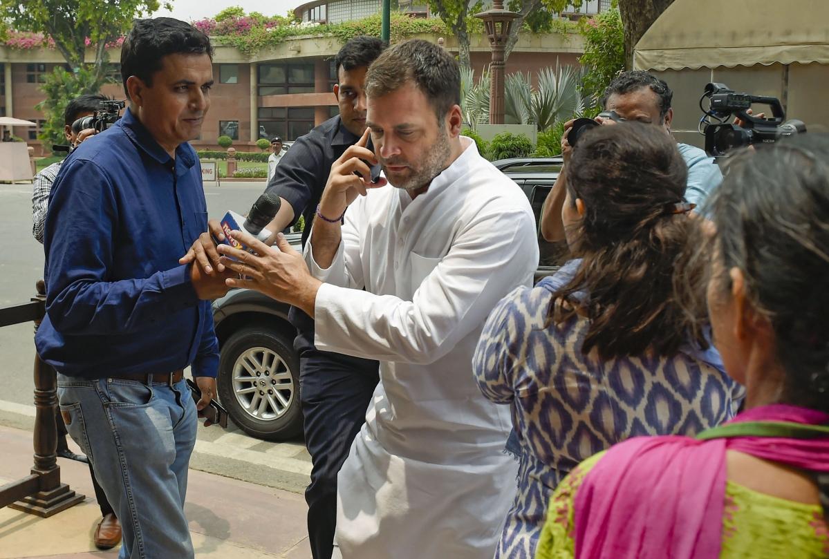Rahul Gandhi to visit Amethi on July 10