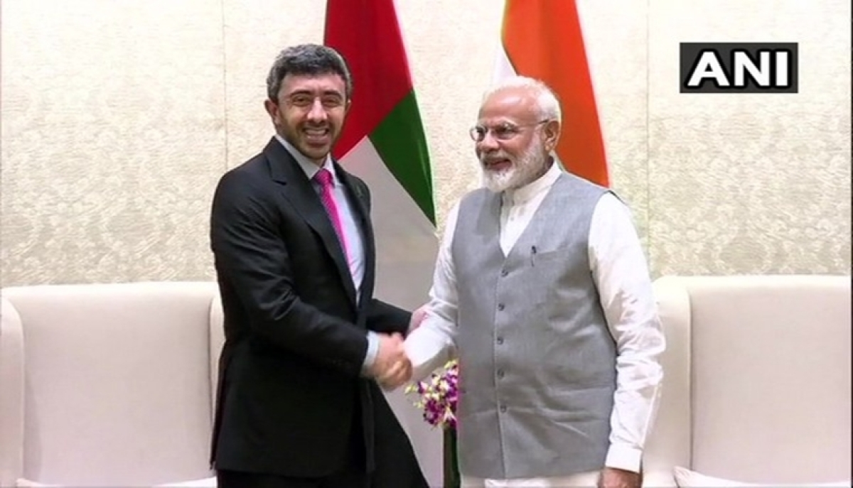 PM Modi discusses economic, cultural ties with UAE foreign minister