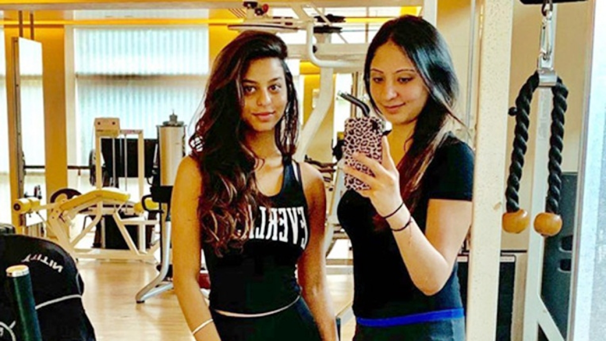 Suhana Khan takes belly dancing lessons and her mentor Sanjana Muthreja can't stop gushing