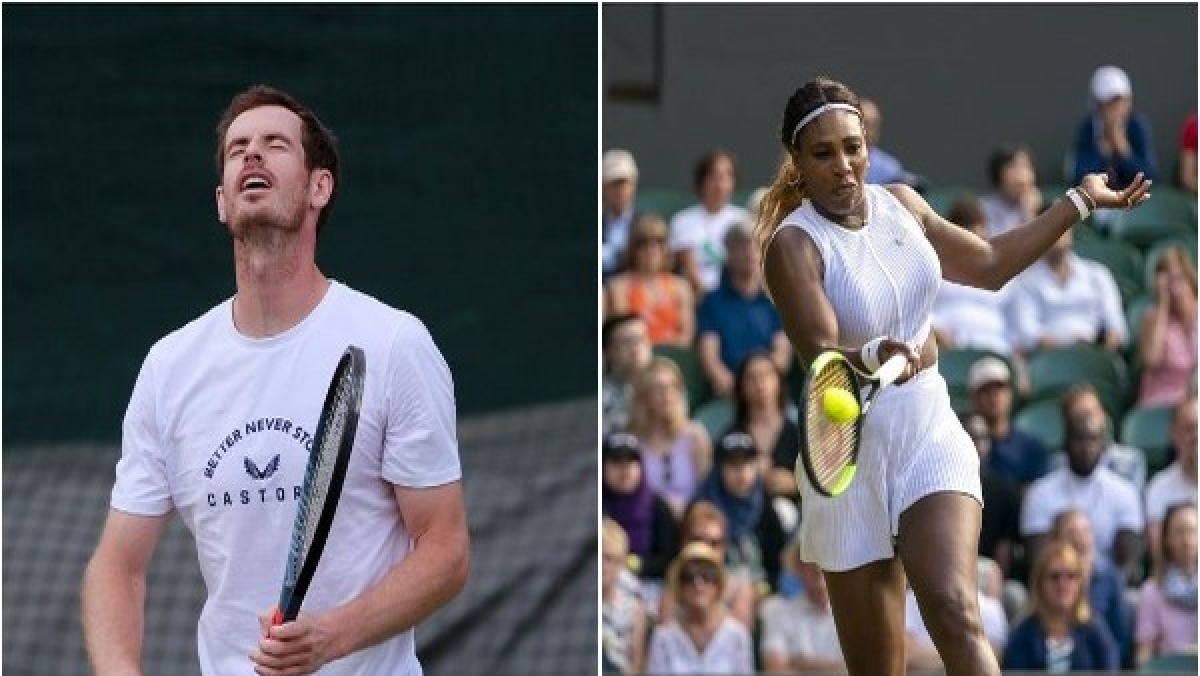 Andy Murray, Serena Williams to play together at Wimbledon 2019