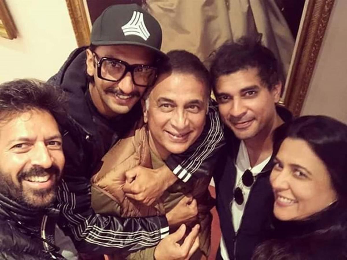 Kabir Khan can't keep calm about Sunil Gavaskar's drop in on sets of Ranveer Singh starrer '83