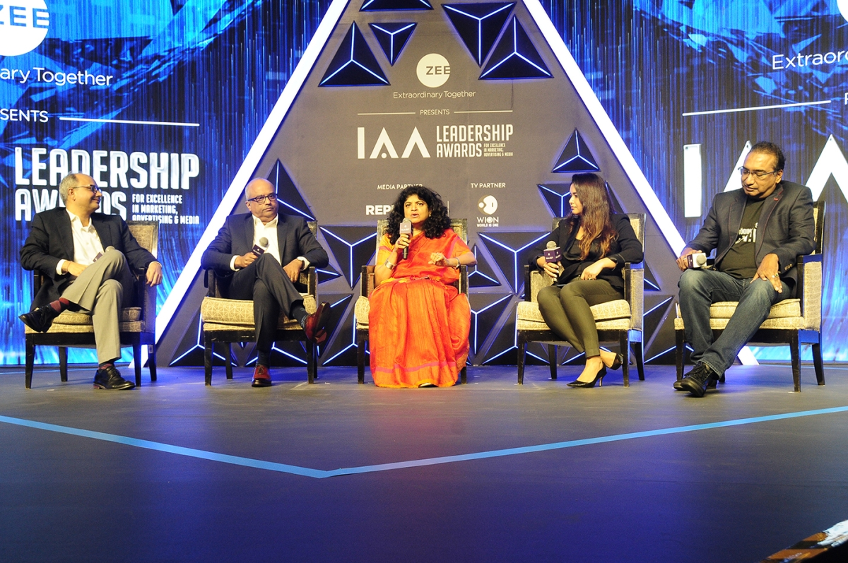 (Left to Right) Punit Misra, CVL Srinivas, Nandini Dias, Pooja Jauhari, Sameer Nair