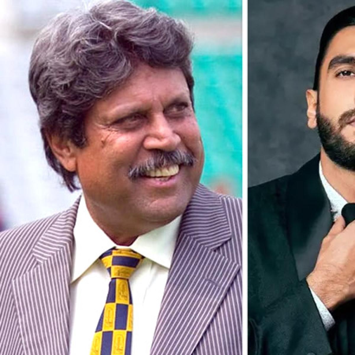 Is Kapil Dev prepping for Ranveer Singh's biopic?