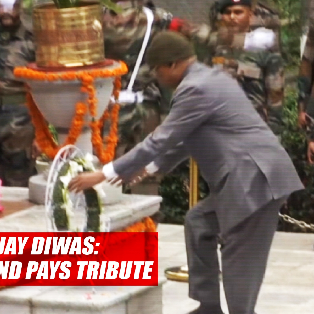 Kargil Vijay Diwas: President Ram Nath Kovind Pays Tribute At Badami Bagh Cantonment In Srinagar