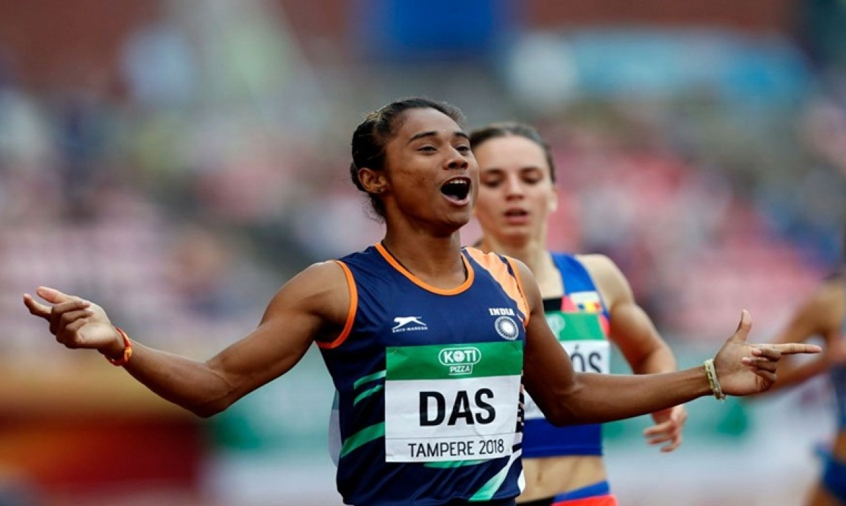 'Golden girl' Hima Das promises more medals for India