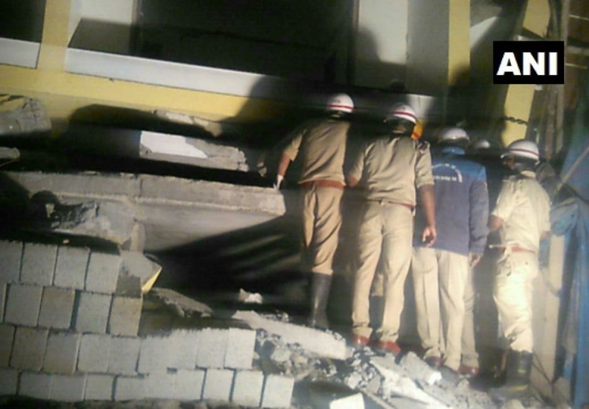 Bihar man killed as under-construction building collapses in Bengaluru