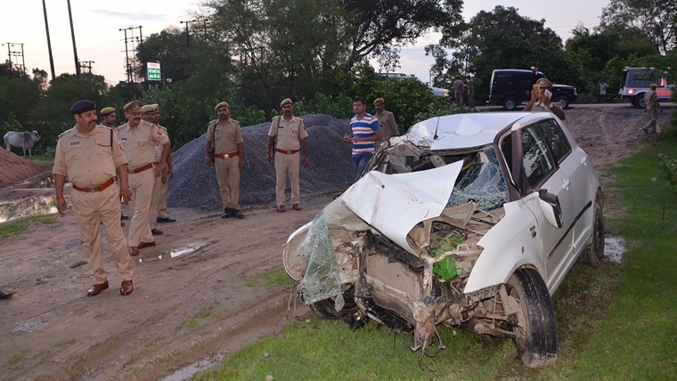 Unnao-rape survivor accident spot