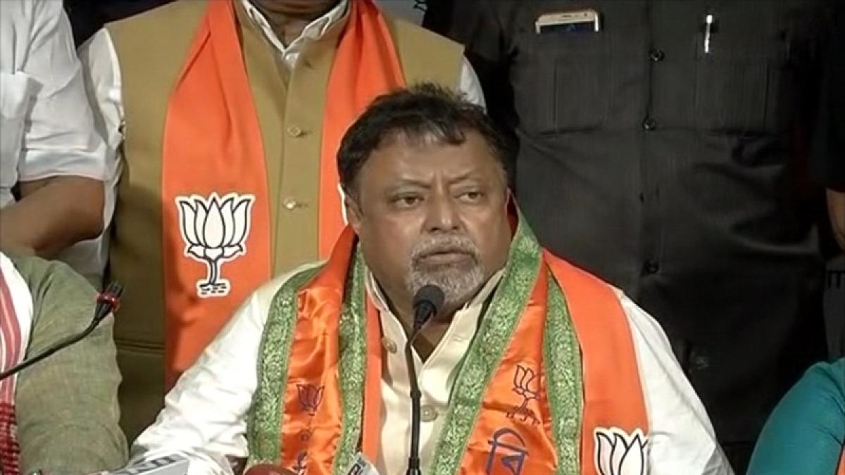 Mamata Banerjee government planning false cases against BJP leaders: Mukul Roy
