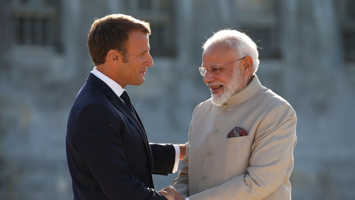 First Rafale jet to reach India in September, confirms French President Emmanuel Macron