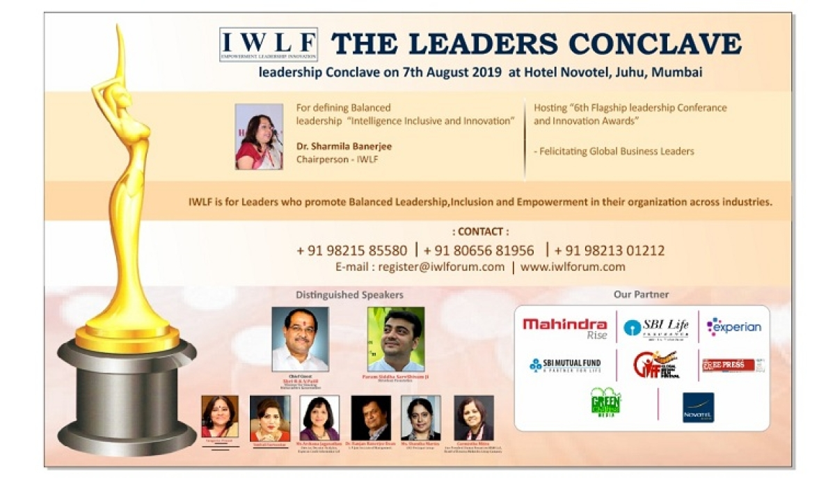IWLF announces The Leaders Conclave
