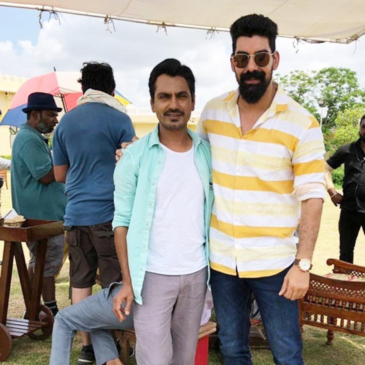 Nawazuddin Siddiqui, Kabir and Tamannaah Bhatia have fun on the sets of 'Bole Chudiyan'