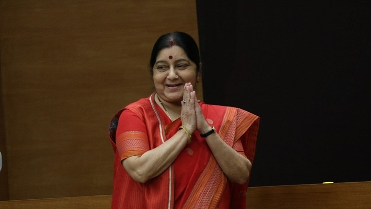 Pakistani nationals thank affable Sushma Swaraj for help in need, share grief with India