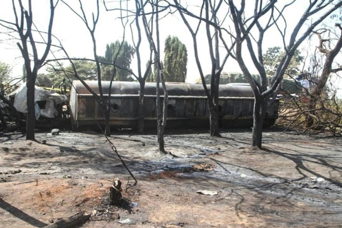 62 killed in Tanzania OIL tanker explosion