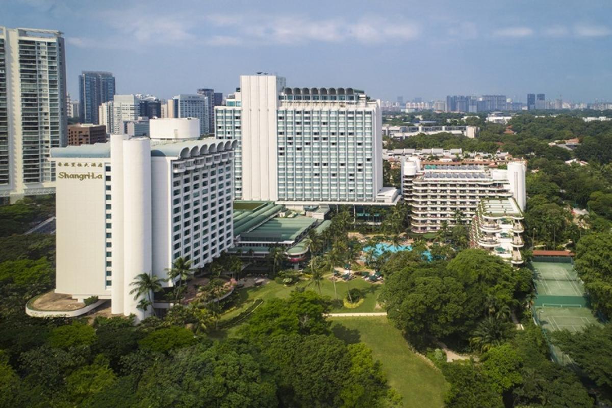 Shangri-La Hotel, Singapore Exterior