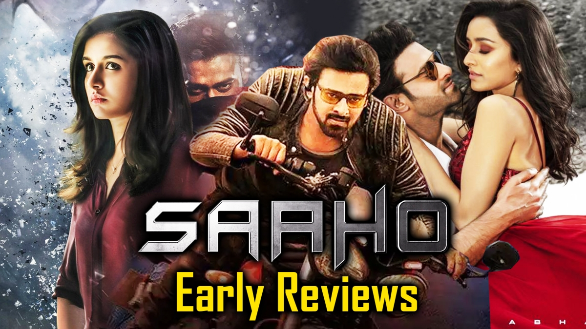 'Saaho' Early Reviews: Twitter Lauds Prabhas ,Shraddha Kapoor's Action Flick   Saaho Movie Review