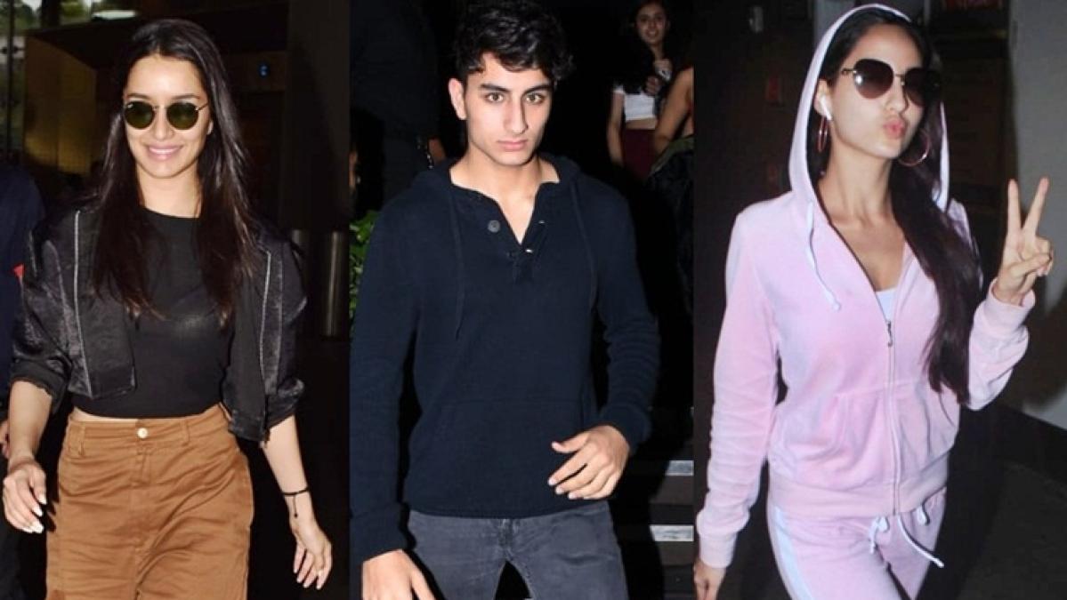 Celebrity Spotting: Shraddha Kapoor, Ibrahim Ali Khan, Nora Fatehi clicked by paparazzi