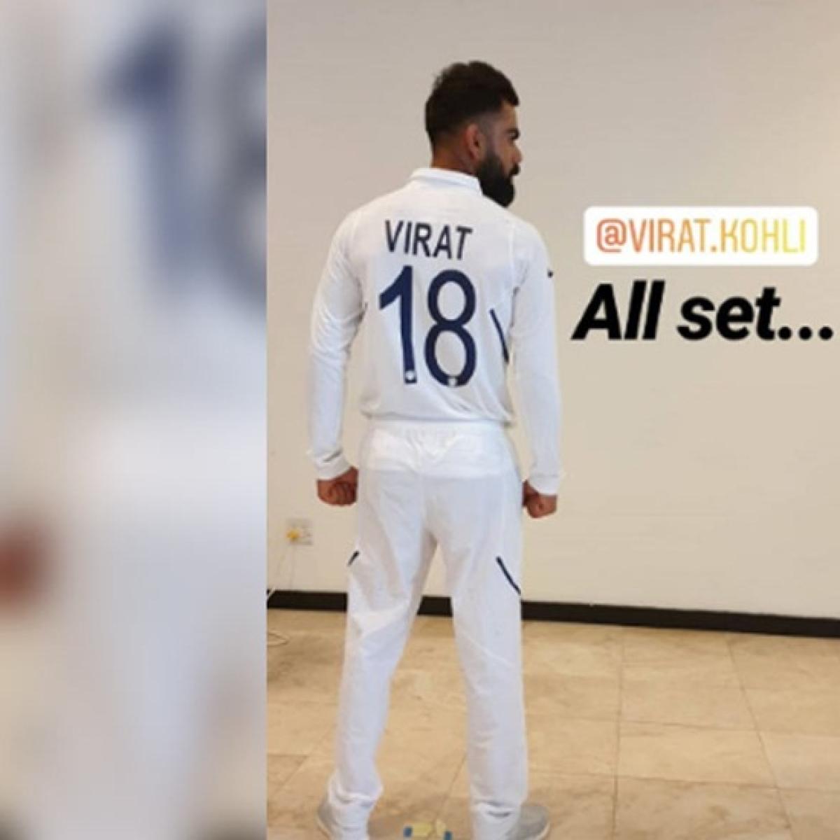 Virat Kohli, Rohit Sharma reveal jersey numbers on new Test kit ahead of World Test Championship; see pics