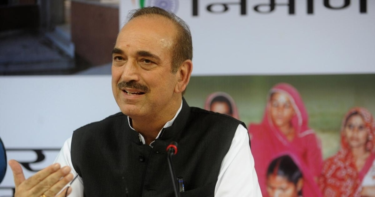 J&K: Ghulam Nabi Azad sent back to Delhi again from Jammu airport