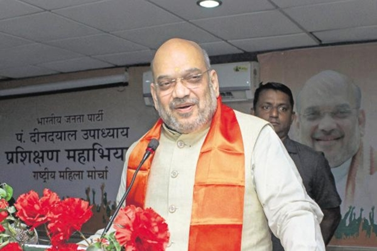 At the right time, J&K can become a state again: Amit Shah