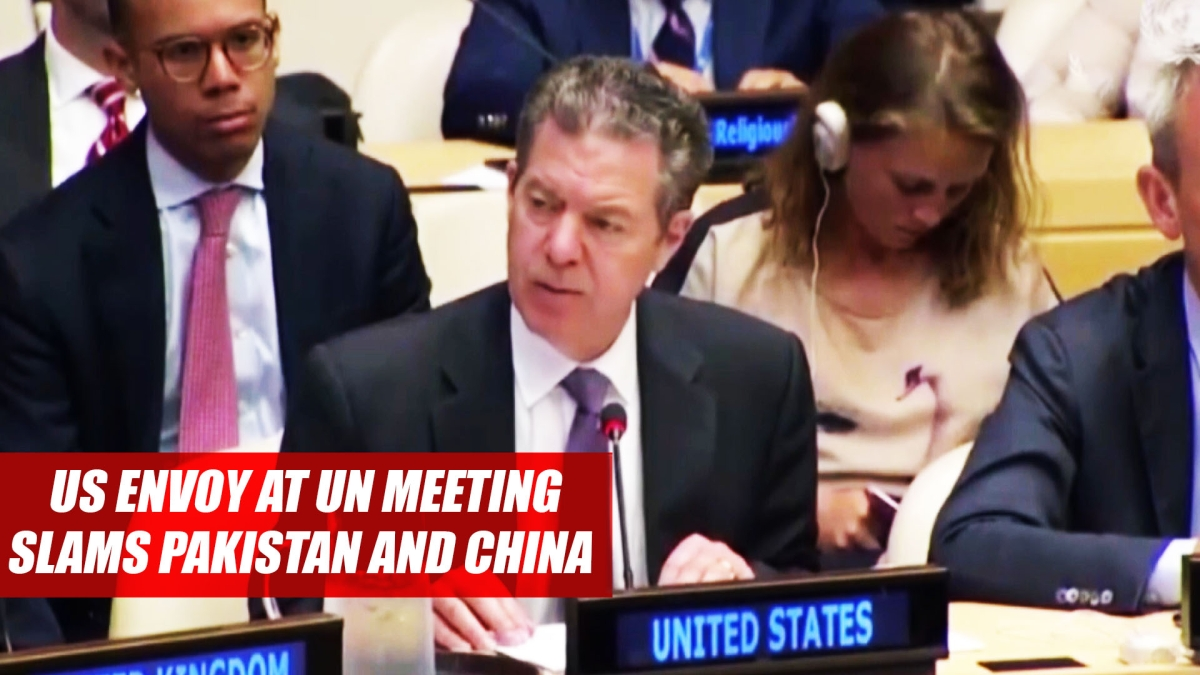US Envoy At UN Meeting Slams Pakistan, China For Discriminating Against religious Freedom