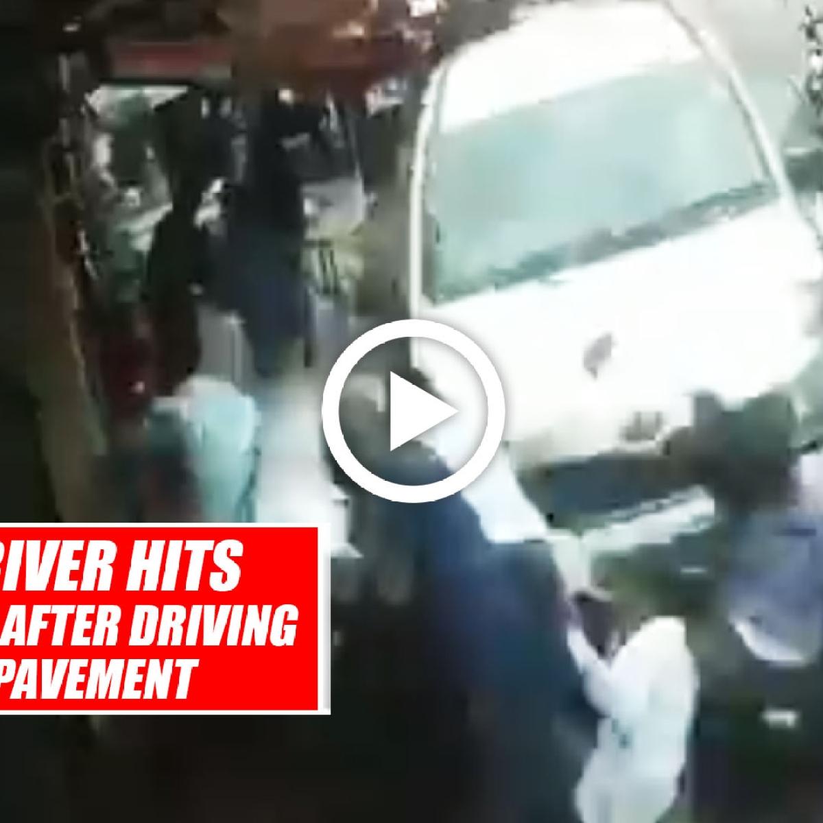 Bengaluru: Drunk Driver Hits 7 Pedestrians After Driving Car Onto Pavement