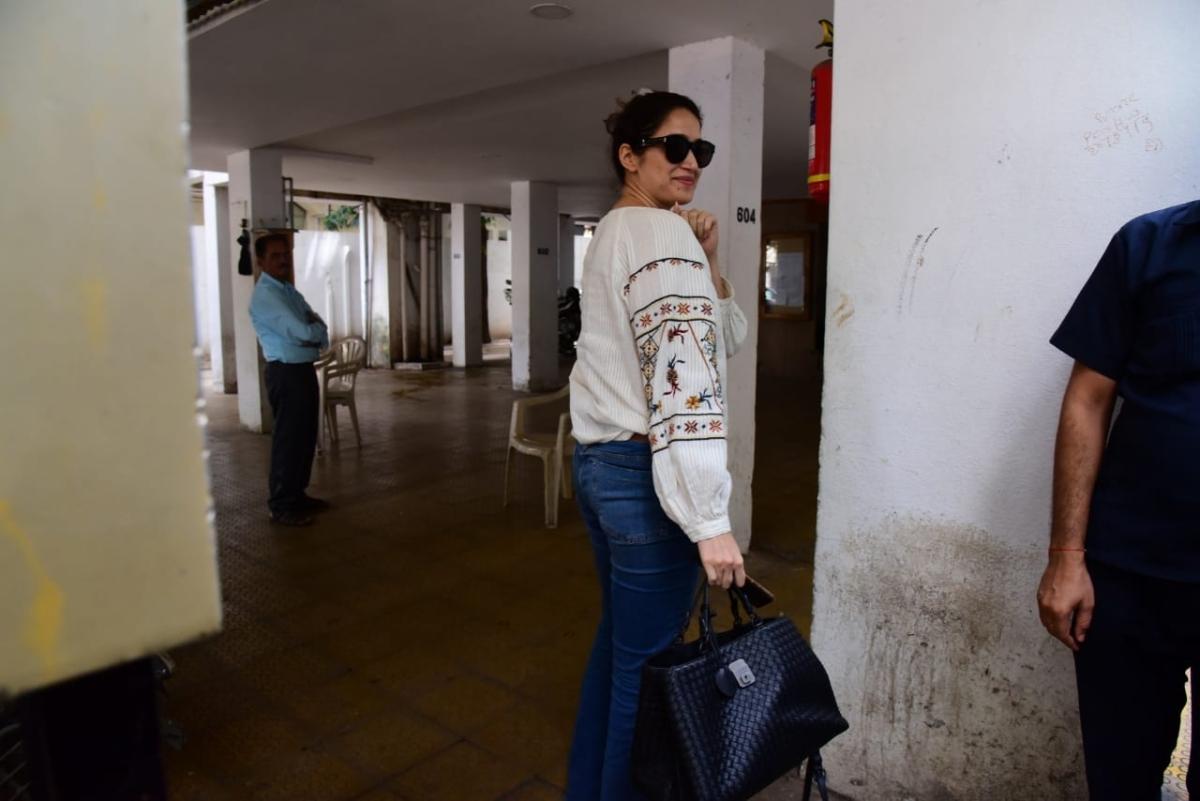 Sagarika Ghatge spotted in Bandra