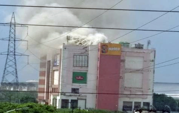 Major fire breaks in Spice Mall in Noida, no casualties reported