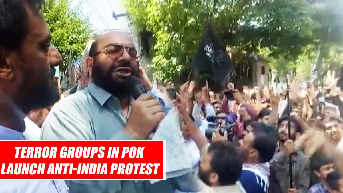Terror groups in PoK launch anti-India protest, threaten for jihad in Kashmir