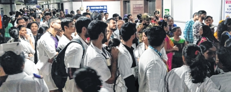 Mumbai: Doctors in de-stress huddle