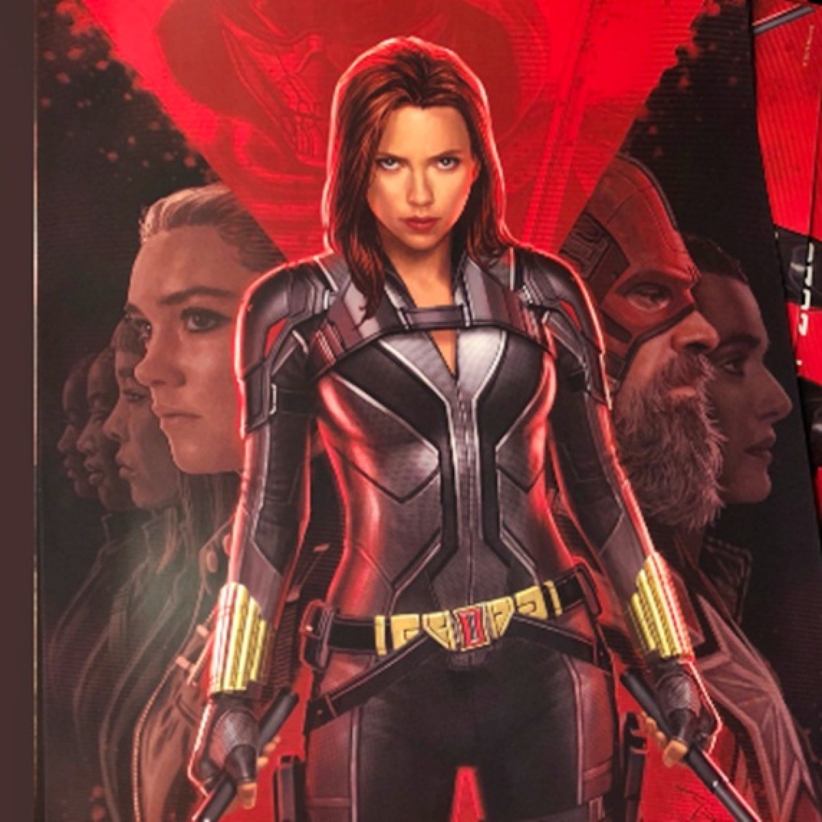 'Black Widow' poster reveals Natasha Romanoff's new suit and David Harbour as Red Guardian