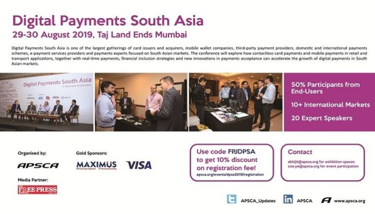 Digital Payments South Asia 2019