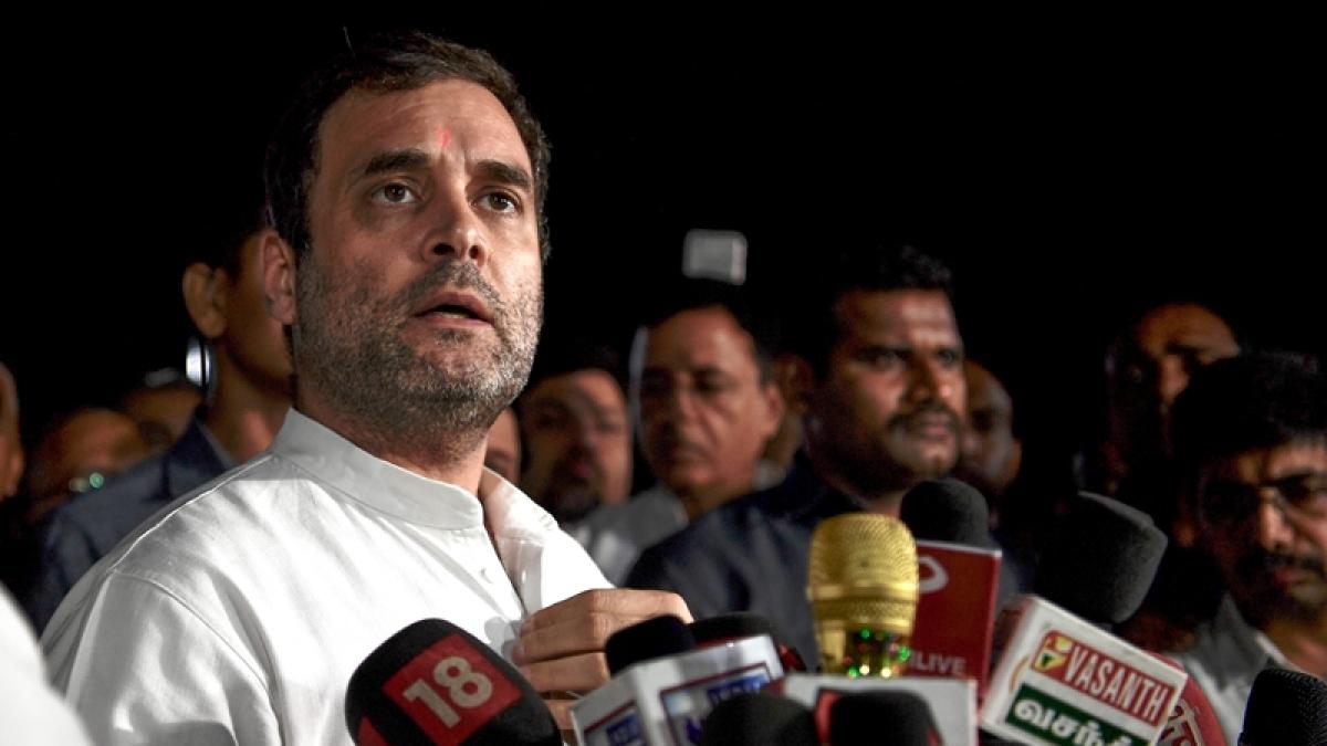 Kerala floods: We will help you rebuild your lives, Rahul Gandhi assures Wayanad