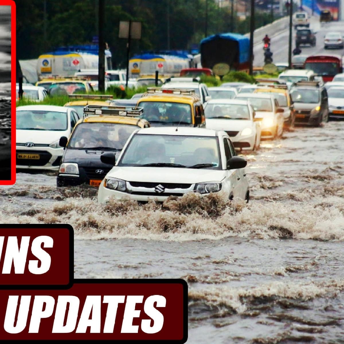 Mumbai Rains Live Updates! 4 People Drowned In Pandavkada Waterfall, In Kharghar