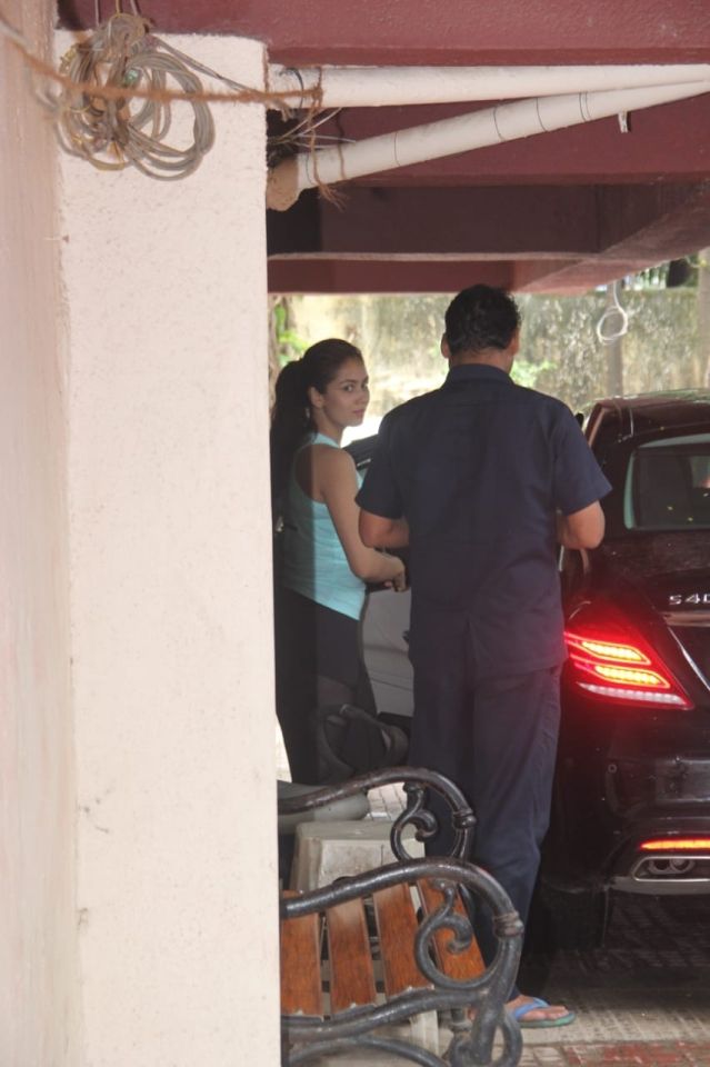 Mira Rajput Kapoor spotted at Gym