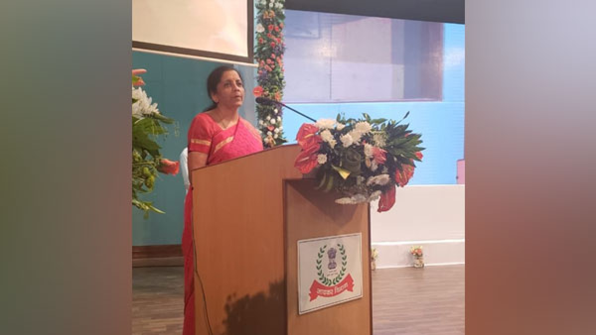 Important to have dialogue between FinMin, tax officials: Nirmala Sitharaman