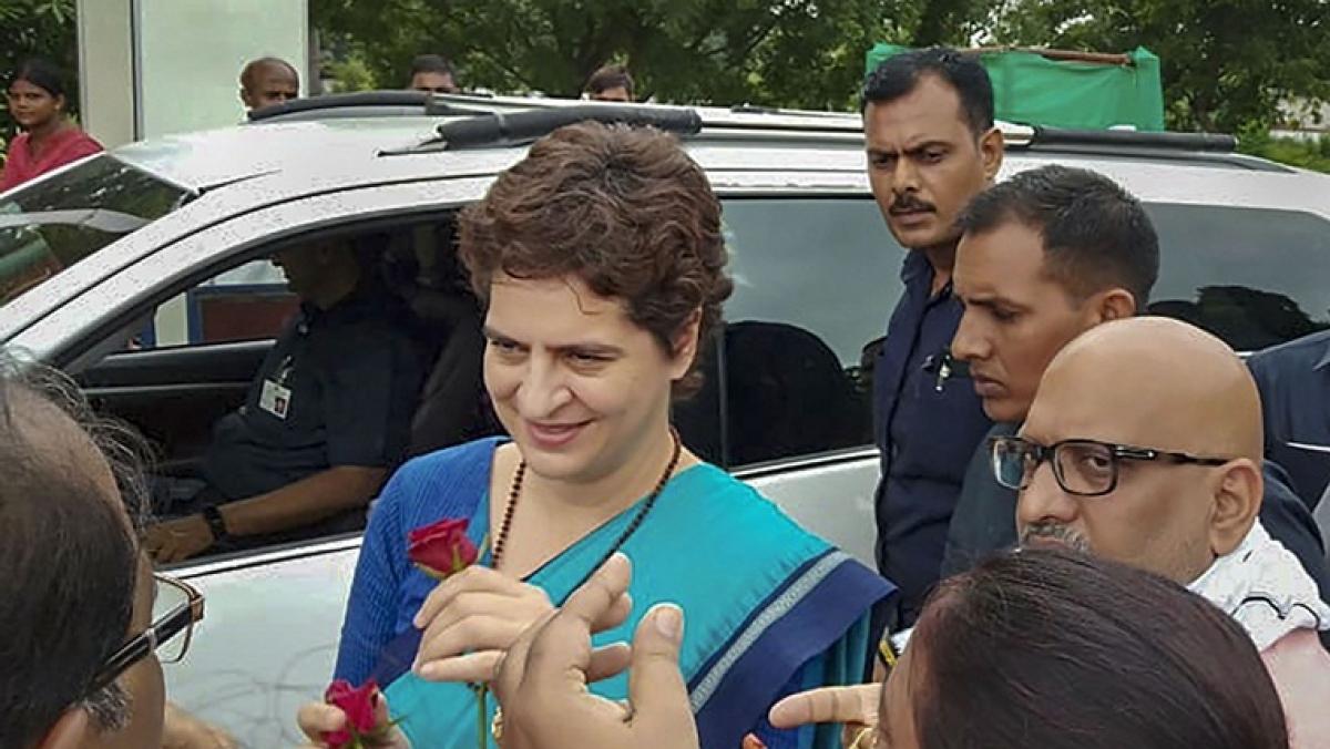 Priyanka Gandhi's aide booked for assaulting, threatening journalist in Sonbhadra