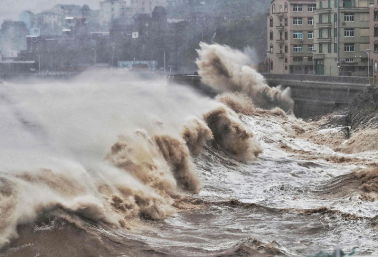 Death toll from Typhoon Lekima rises to 49 in China