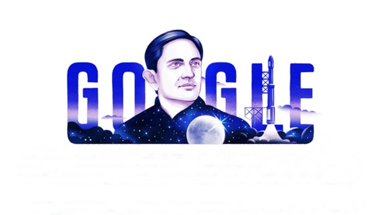 Google Doodle celebrates Vikram Sarabhai's 100th birthday
