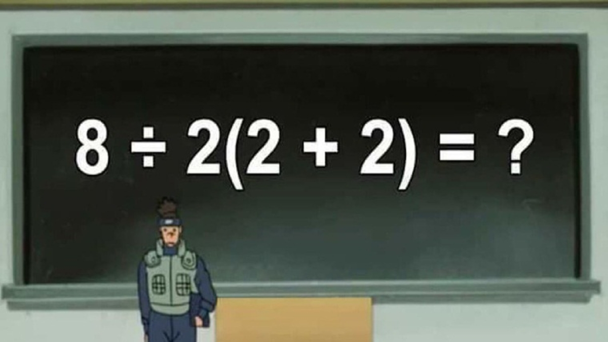 foto de Simple math equation leaves internet divided; can you solve it?