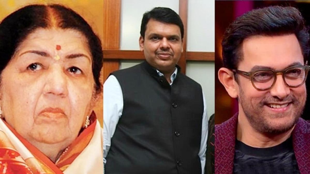 Lata Mangeshkar and Aamir Khan donates for Maharashtra flood relief