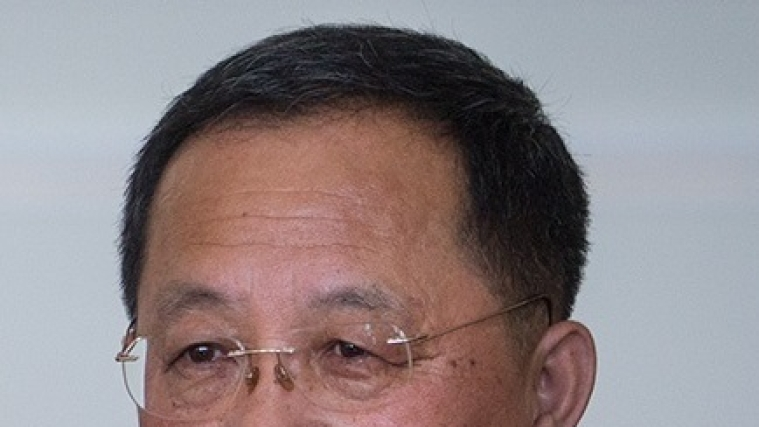 North Korea foreign minister Ri Yong Ho