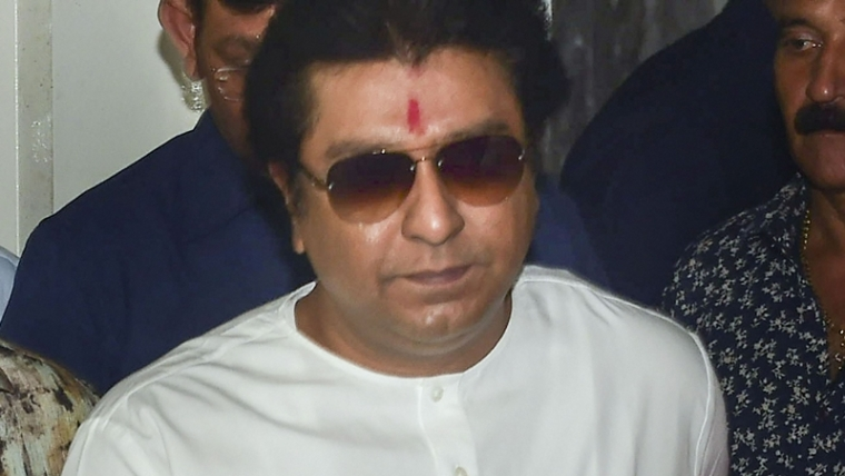 Raj Thackeray reaches ED office for questioning in money laundering case