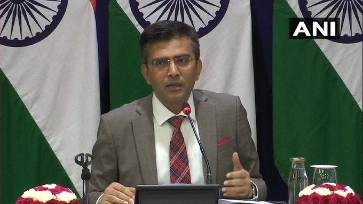 Second India-US 2+2 dialogue to be held on December 18: MEA