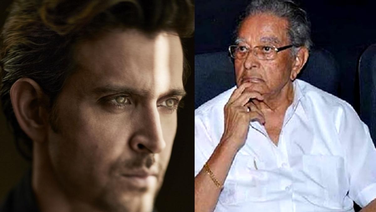 Veteran director and actor Hrithik Roshan's grandfather J Om Prakash dies