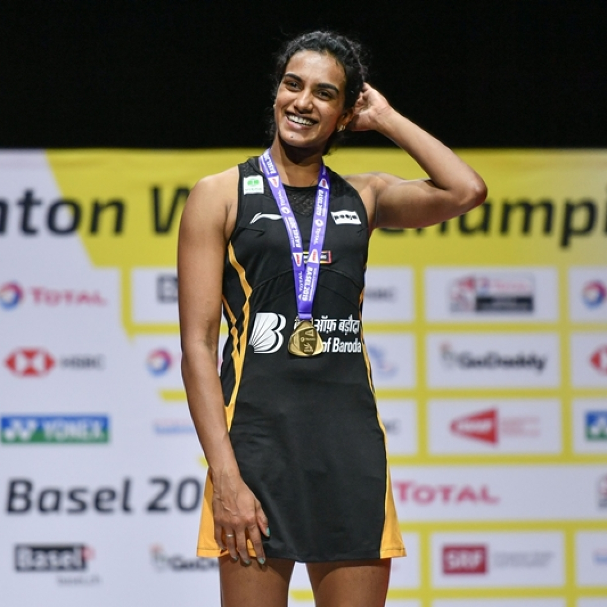 Badminton fraternity lauds PV Sindhu for winning gold at BWF World Championships