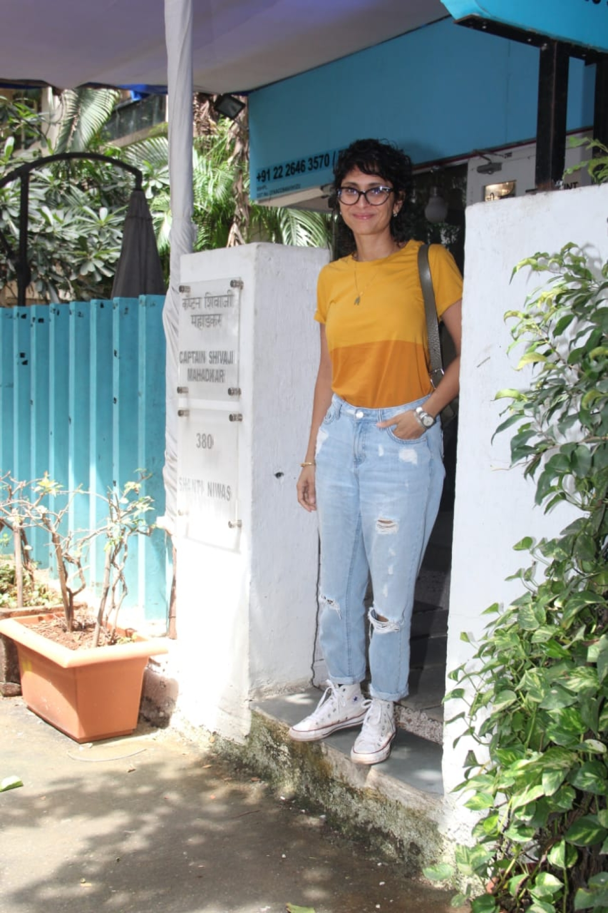Kiran Rao spotted in the city.
