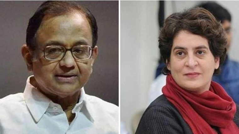 Is it wise for Priyanka Gandhi to stand by Chidambaram as major public opinion goes against him?