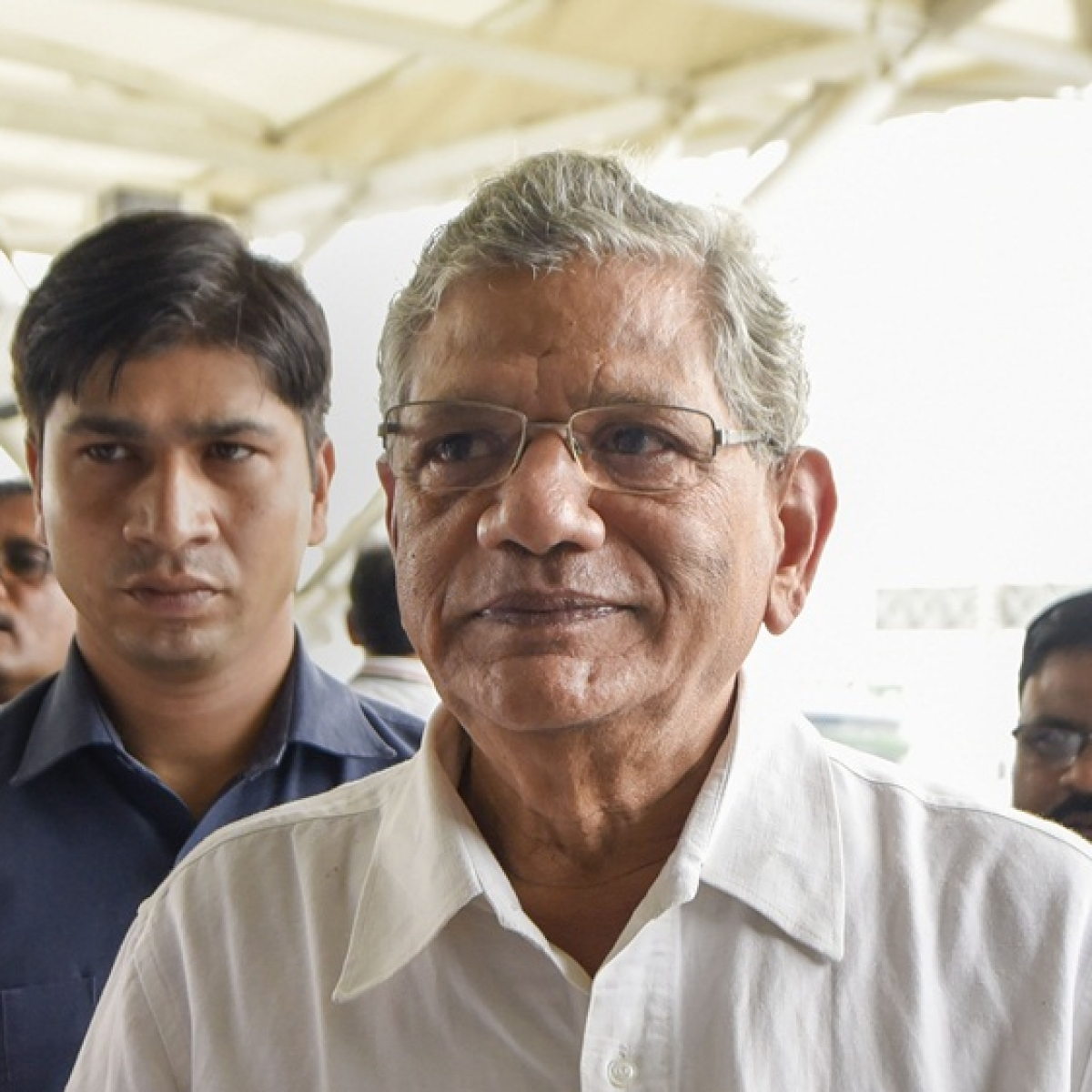 Sitaram Yechury leaves for J&K, says Satya Pal Malik's remark on Congress 'not acceptable'